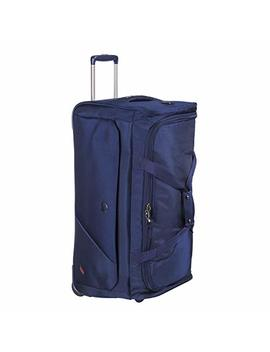 Delsey Paris New Destination Travel Duffle, 72 Cm, 77 Liters, Navy Blue by Delsey Paris