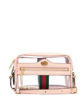 Ophidia Mini Pvc And Leather Cross Body Bag by Gucci