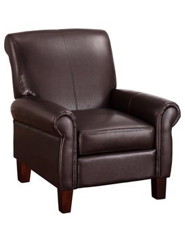 Dorel Living Faux Leather Club Chair, Multiple Colors by Dorel Living