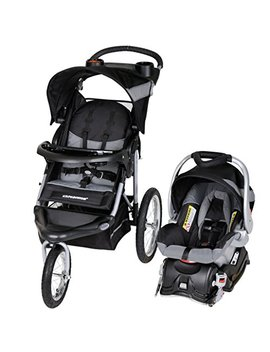 Baby Trend Expedition Jogger Travel System, Millennium White by Baby Trend