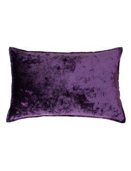 Ibenz Ice Velvet Lumbar Throw Pillow   Décor Therapy by Décor Therapy
