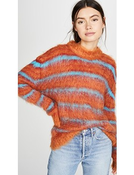 Striped Mohair Sweater by Marni