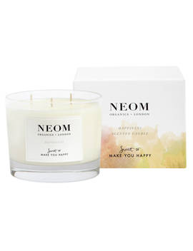 Neom Organics London Happiness 3 Wick Scented Candle by Neom Organics London