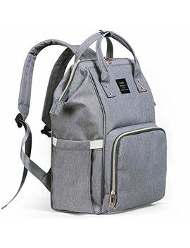 diaper-bag-backpack,-ticent-baby-nappy-bags-multi-function-waterproof-travel-back-pack-tote-bags-for-baby-care---large-capacity,-stylish-and-durable,-gray by ticent
