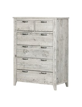 Lionel 6 Drawer Lingerie Chest Natural White   South Shore by South Shore
