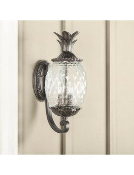 Kyra 2 Light Outdoor Sconce by Beachcrest Home