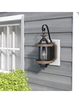 Elisabetta 1 Light Outdoor Wall Lantern by Laurel Foundry Modern Farmhouse