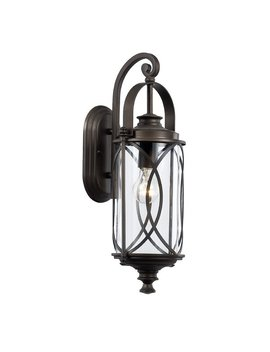 Ginsburg 1 Light Outdoor Wall Lantern by Bungalow Rose