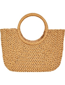 Dream Weaver Woven Tote by Billabong