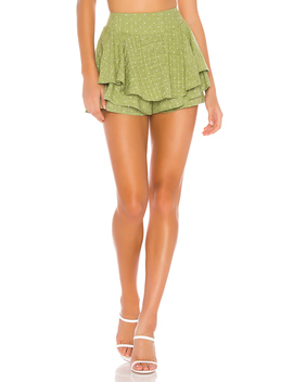 Safari Star Light Mini Skort by Minkpink