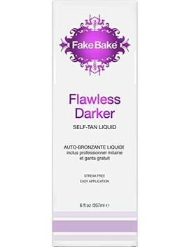 Self Tanning Liquid Flawless Darker By Fake Bake | Luxurious And Fast Drying Solution That Delivers The... by Fake Bake