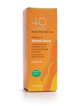 40 Carrots Vitamin Serum, 1 Ounce Boxes by 40 Carrots