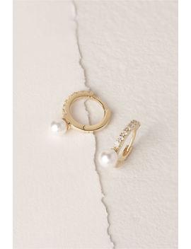 Jennis Hoop Earrings by Bhldn
