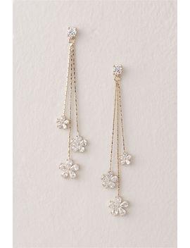Dazzle Daisy Earrings by Bhldn