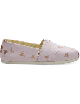 Honeybees Canvas Women's Classics by Toms