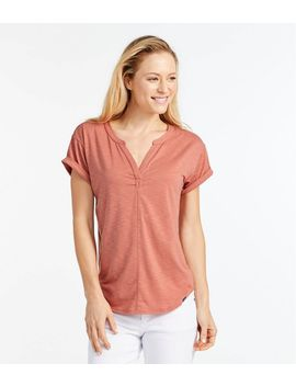 Women's Short Sleeve Streamside Tee by L.L.Bean