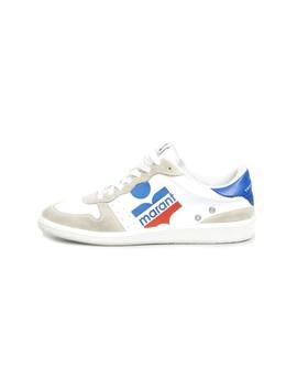 Bulian Sneaker In White by Isabel Marant
