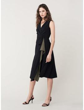 Addison A Line Midi Dress by Dvf