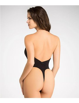 strapless-low-back-slimming-bodysuit by va-bien