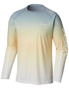 Men's Pfg Terminal Deflector™ Printed Long Sleeve Shirt by Columbia Sportswear