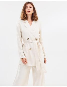 Fleur Linen Jacket by Friend Of Audrey