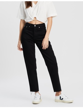 High Waisted Rigid Jeans by Assembly Label