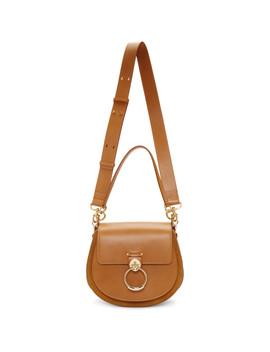 brown-large-tess-bag by chloÉ