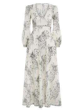 Wayfarer Plunge Long Dress by Zimmermann