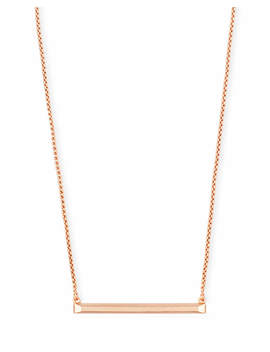 Kelsey Pendant Necklace In Rose Gold by Kendra Scott