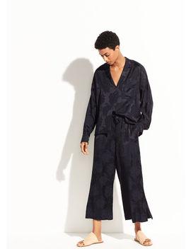 Jacquard Pajama Popover by Vince