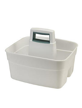 Deep Multipurpose Cleaning Caddy White by Lakeland