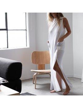 Cool Paneled Sleeveless Dress by Lunya