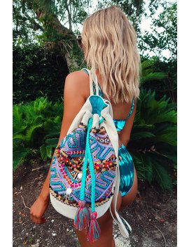 Island Hopping Backpack: Multi by Hope's