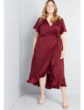 Stunning Wonder Maxi Wrap Dress by Modcloth