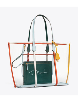 Perry Pvc Oversized Tote by Tory Burch