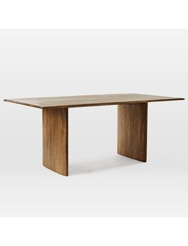 "Anton Solid Wood Dining Table, 72"" by West Elm"