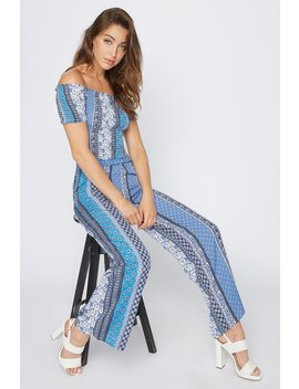 Printed High Rise Palazzo Pant by Urban Planet
