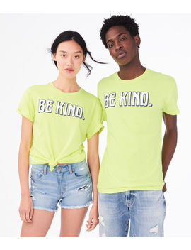 aero-one-be-kind-graphic-tee by aeropostale