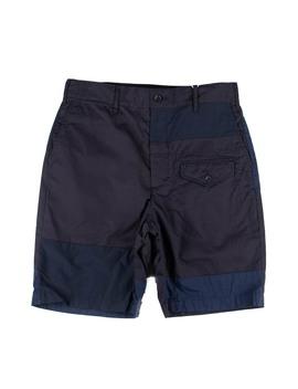 Ghurka Short   Dk.Navy High Count Twill by Engineered Garments