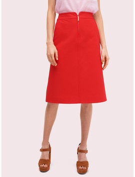 Collection Twill Skirt by Kate Spade