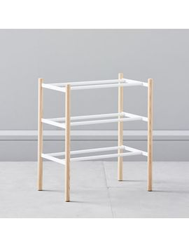 Extended Shoe Rack by West Elm
