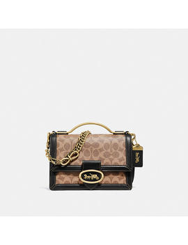 Riley Top Handle 22 In Signature Canvas by Coach