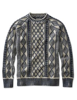Signature Rollneck Fisherman Sweater, Plaited by L.L.Bean