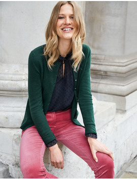 cashmere-crew-cardigan---conker by boden