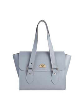 The Emily Tote   French Grey Celtic Grain by Cambridge Satchel