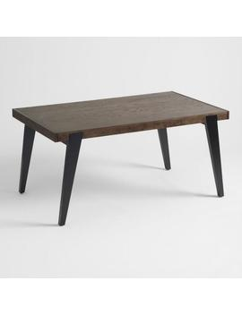 Two Tone Wood Dominick Extension Dining Table by World Market