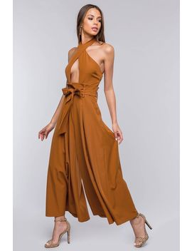 Brynee Wide Leg Jumpsuit by A'gaci