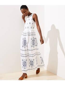 Mosaic Tiered Maxi Dress by Loft