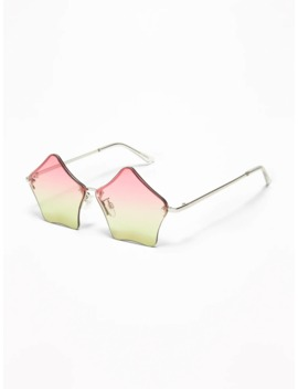 Ombré Star Shaped Sunglasses For Girls by Old Navy