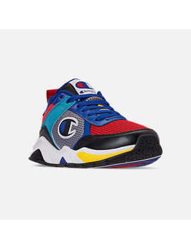 Men's Champion 93 Eighteen Sp Block Casual Sneakers by Champion